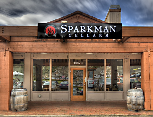 Christian Sparkman with Sparkman Cellars